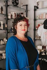 Brittney Shanks, craft hairdresser