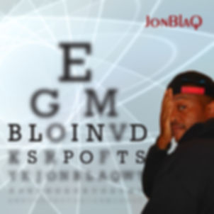 JonBlaQ Blind Spots Hip Hop album cover design