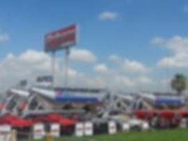 Gallegos trailers plant CEMEX Aluminum Pneumatic trailers