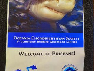 Representing MPRF at the Oceania Chondricthyan Society Meeting