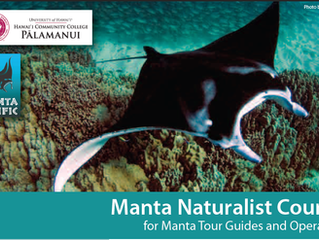 Next Manta Naturalist Course
