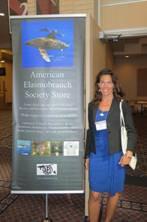 At the 30th American Elasmobranch Society Meeting