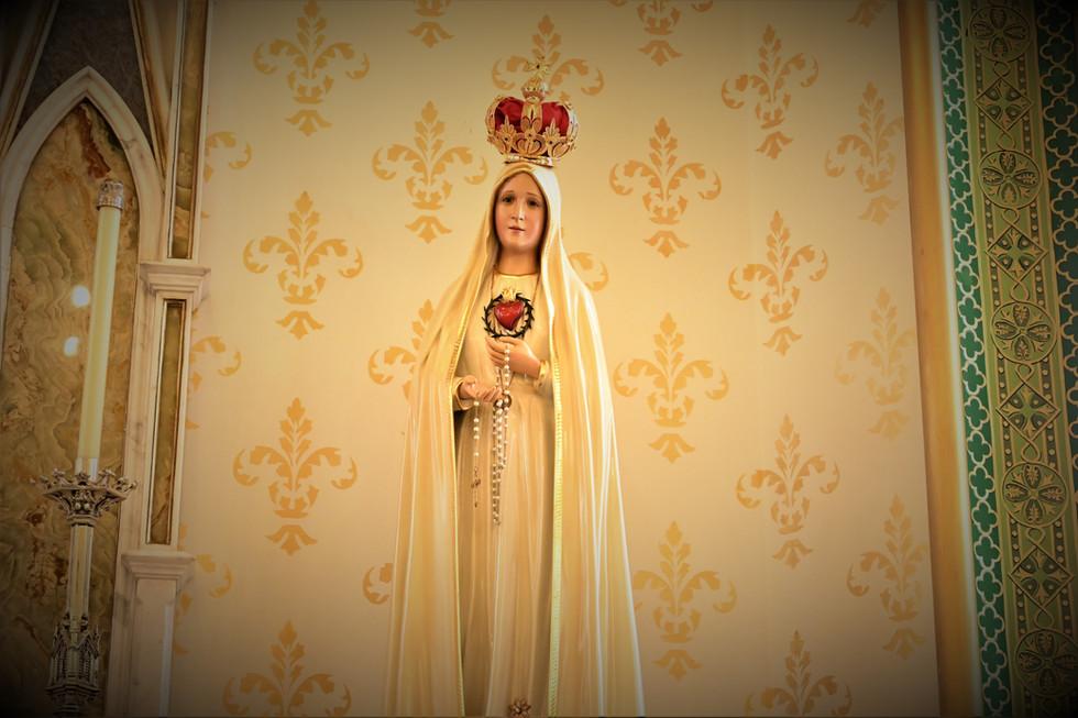 Nossa Senhora de Fátma - Capela do Santí
