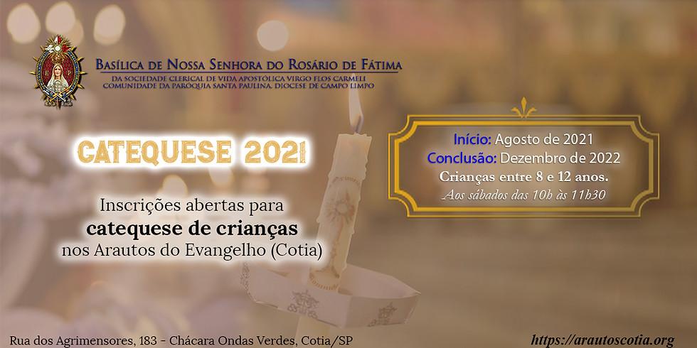 Catequese 2021-2022