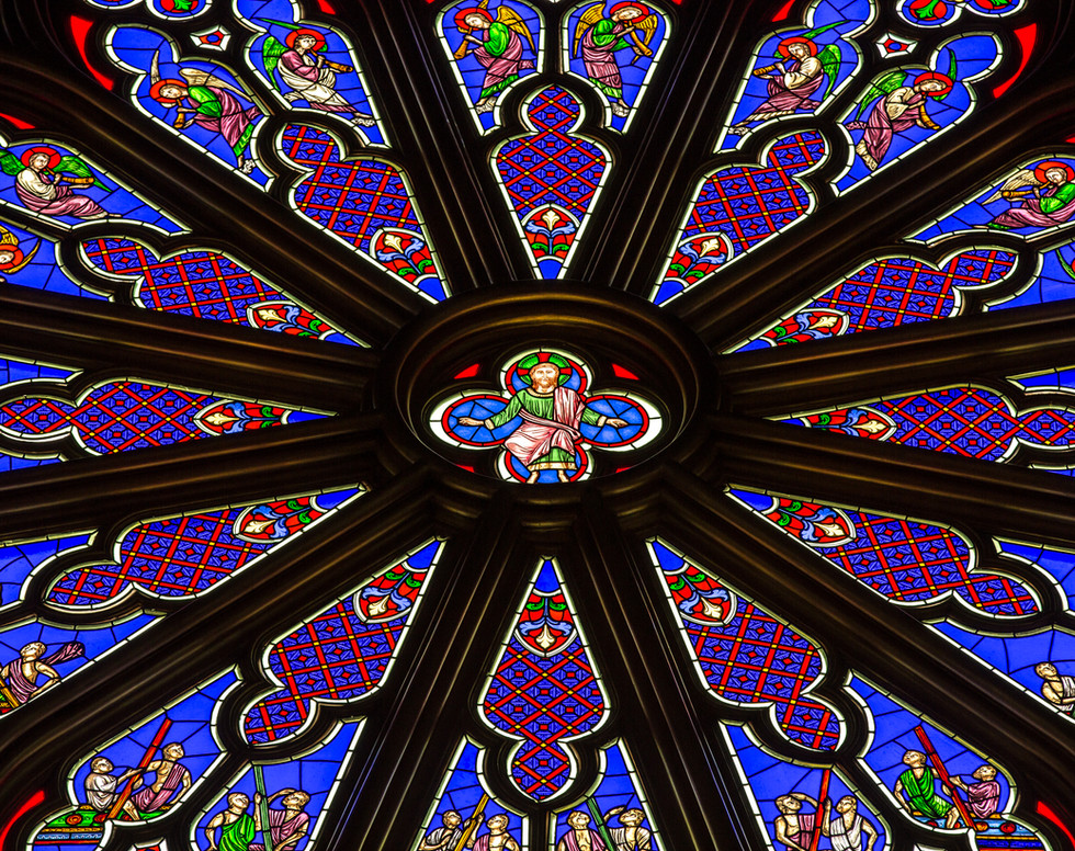 Rosácea Cristo Rei do Universo