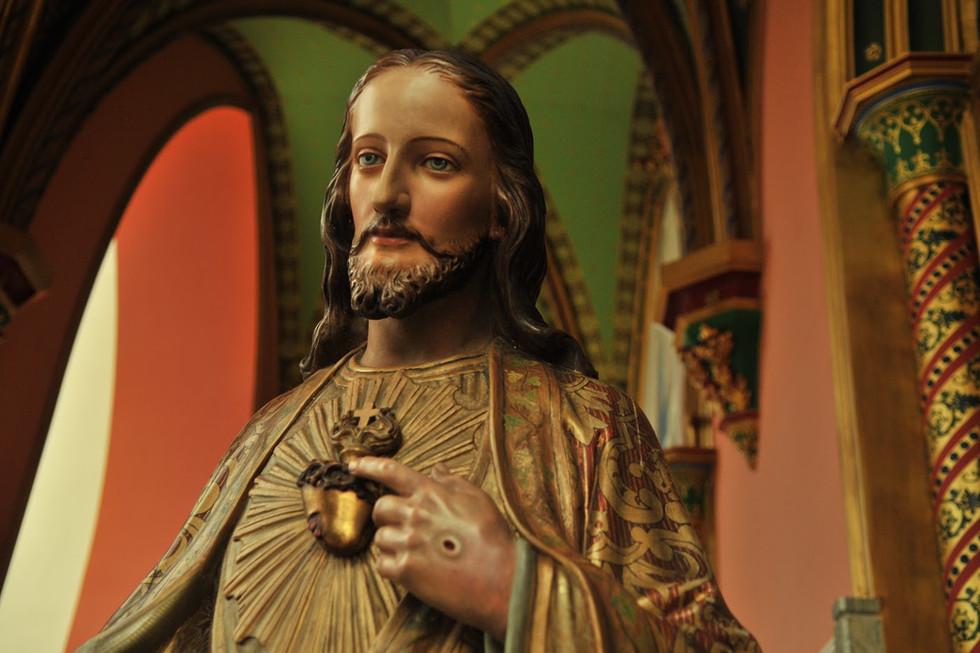 Sagrado Coração de Jesus na Basílica Nos