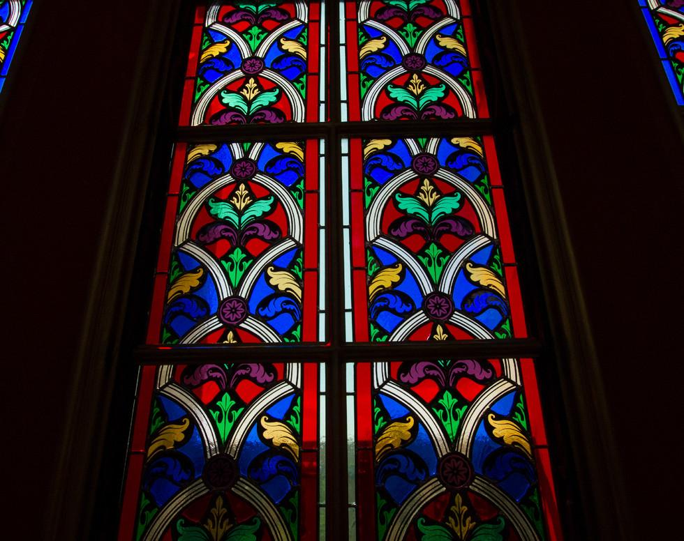 Vitrais da Basílica de Nossa Senhora do