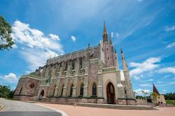 Basílica Nossa Senhora do Rosário de Fátima externa