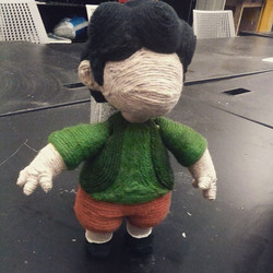 Brother Puppet Front View