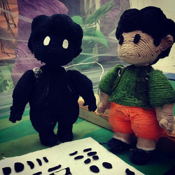 Brother puppets