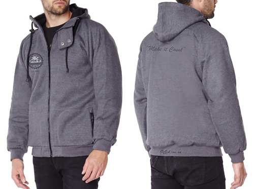 The Cyclist and Motorcyclist -  Kevlar Slash and Abrasion Resistant Hoodie