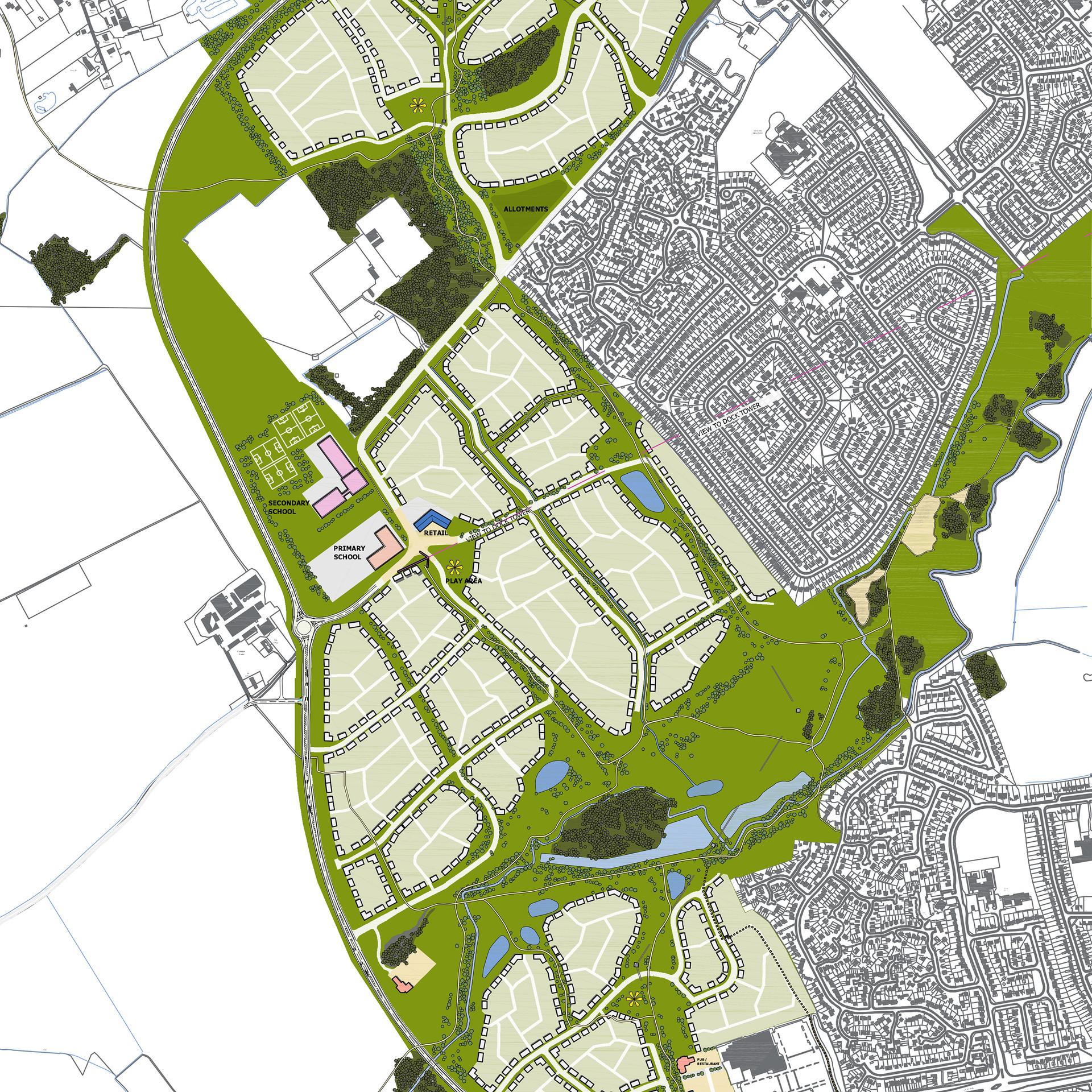 Grimsby urban extension green infrastructure masterplan