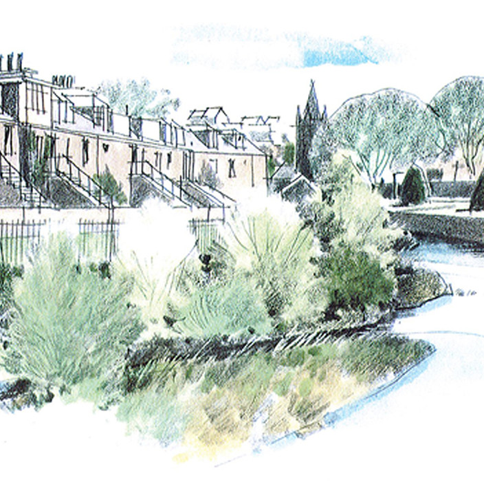 Water of Leith - Concept Sketch