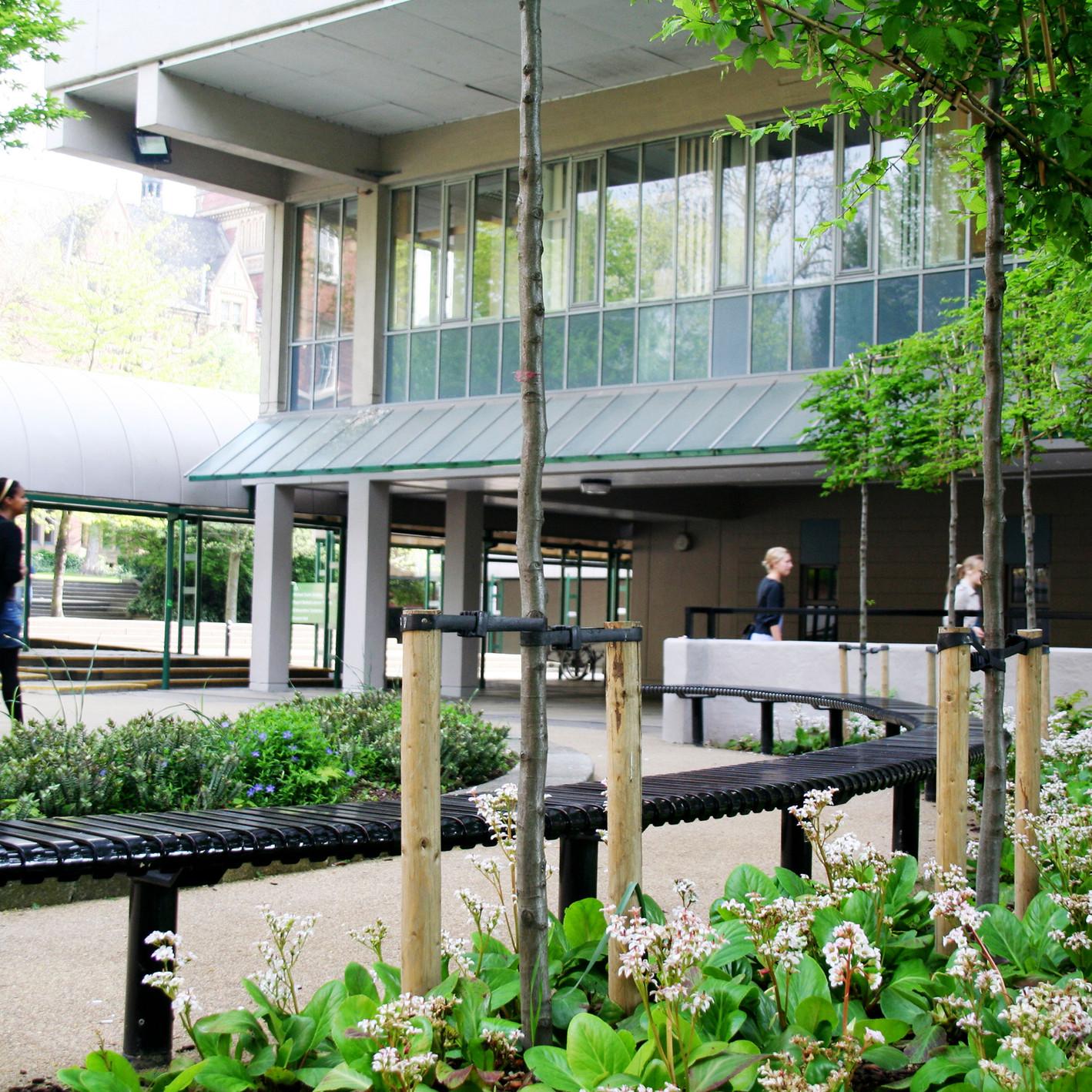 Leeds University Round Garden