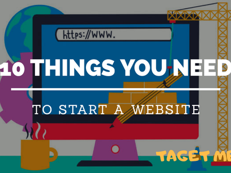 10 Things You Need to Start a Website