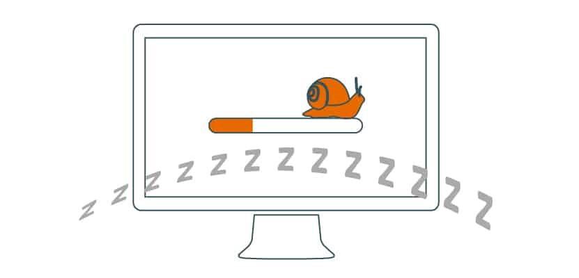 Website slow loading time