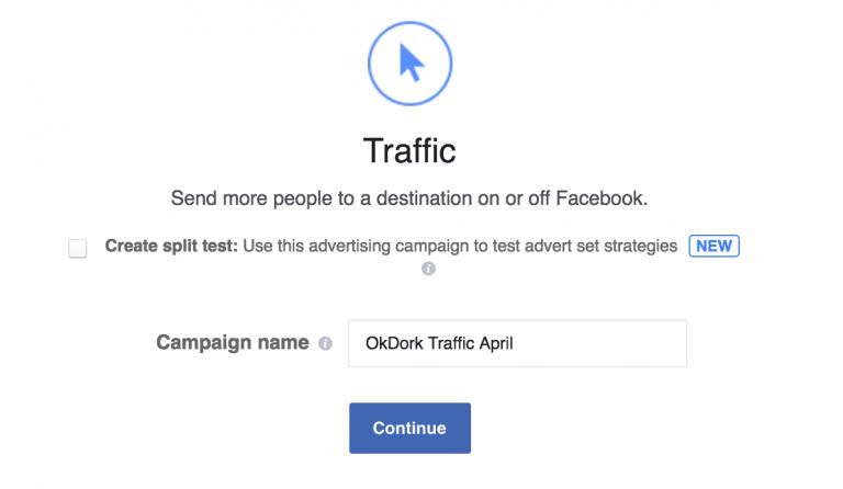Facebook ads traffic