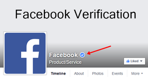 How to get Facebook Business verification badge