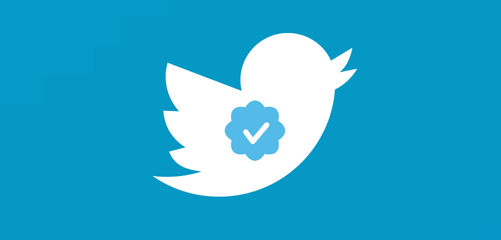 How to get twitter verification badge