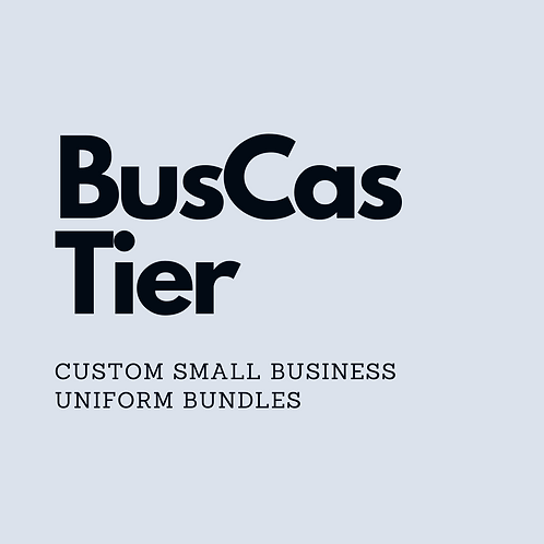 BusCas Tier Uniform Bundle
