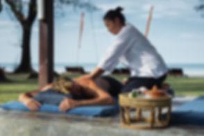 Beachfront massage Koh Lanta
