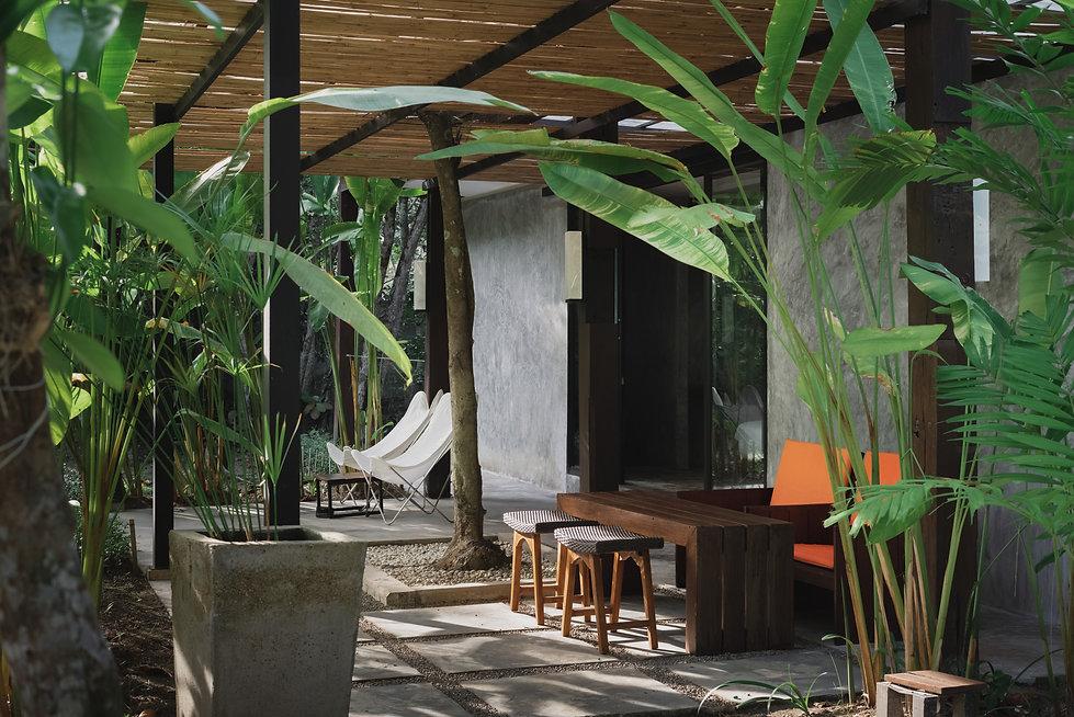 garden view suite at costa lanta resort koh lanta