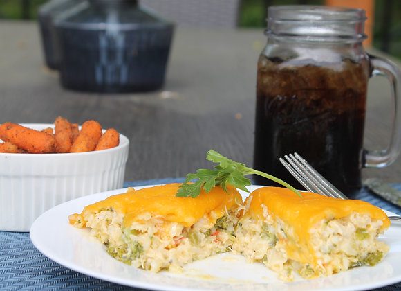 Broccoli, Chicken & Rice Casserole