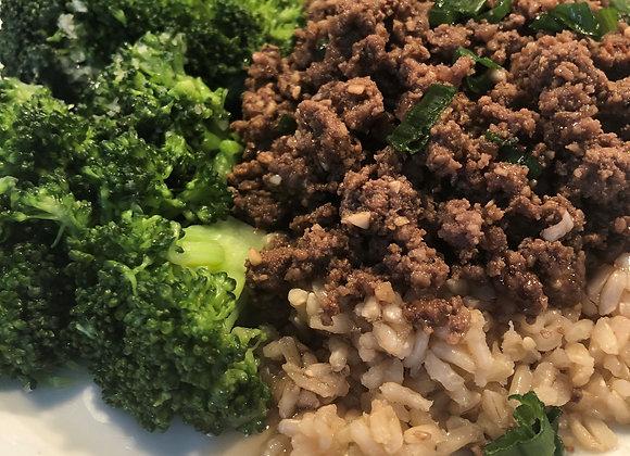 Korean Beef & Rice