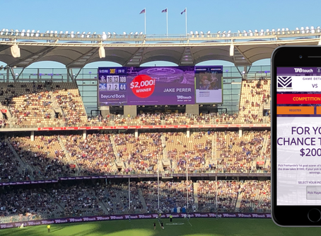 Game-Day Activation: TABTouch + Optus Stadium