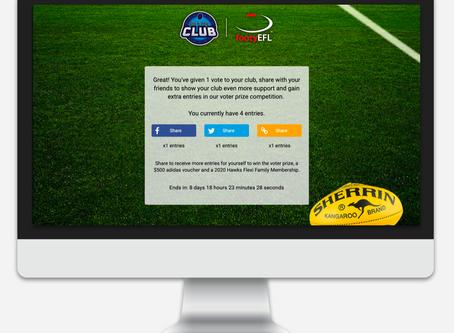 Grassroots Campaign: Hawthorn FC + EFL 'Pick My Club'