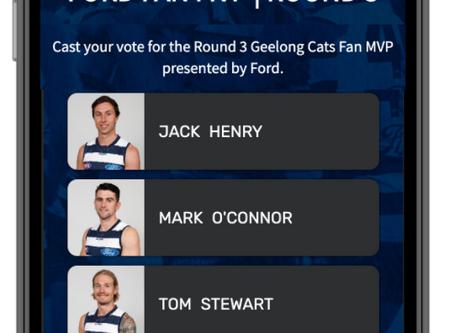 Ford Fan MVP + Geelong FC