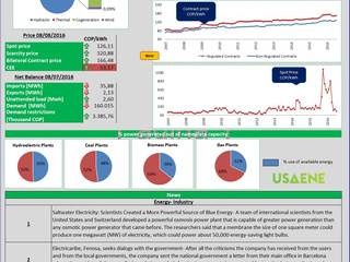 Colombian Electricity Market-Daily Report