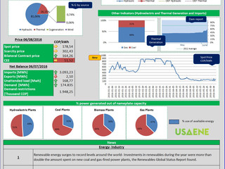 Colombian Electricity Market Daily Report