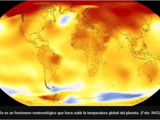 3 razones que explican por qué 2017 fue el año más cálido sin el efecto de El Niño