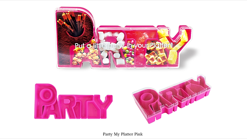 Party My Platter in             Partytime Pink