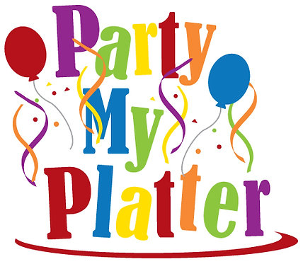 Party My Platter in White