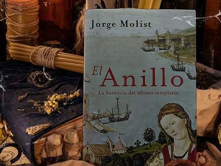 Jorge Molist nos hace viajar a la época templaria con El anillo, La herencia del último templario.