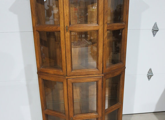 Solid Wood Walnut? China Curio Cabinet