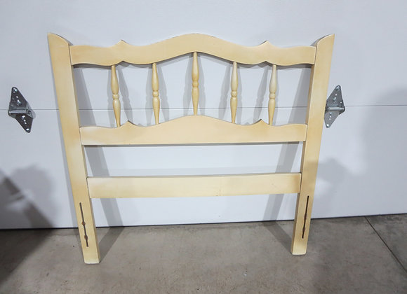 Dixie French Provincial Twin Headboard and Frame