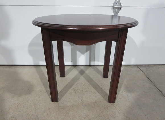 Oval Wood Side / End Table