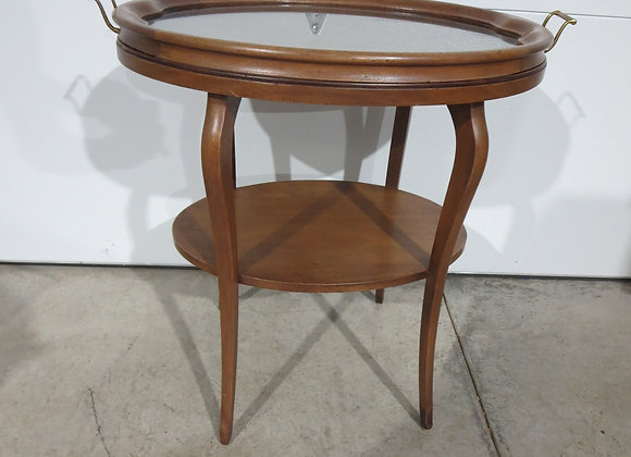 Oval Table w/ Removable Tray