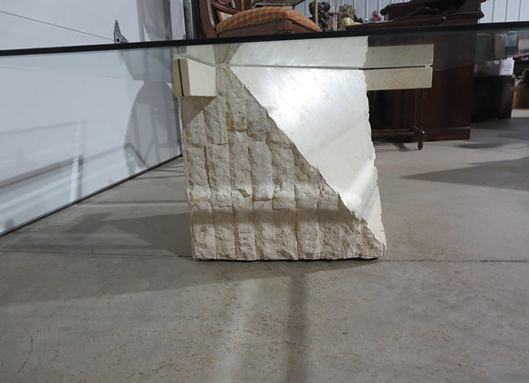 Stone Sculptured Coffee Table