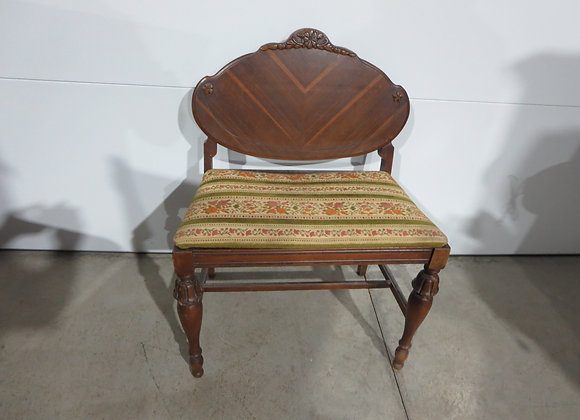 Vintage Vanity Stool Chair Seat Bench