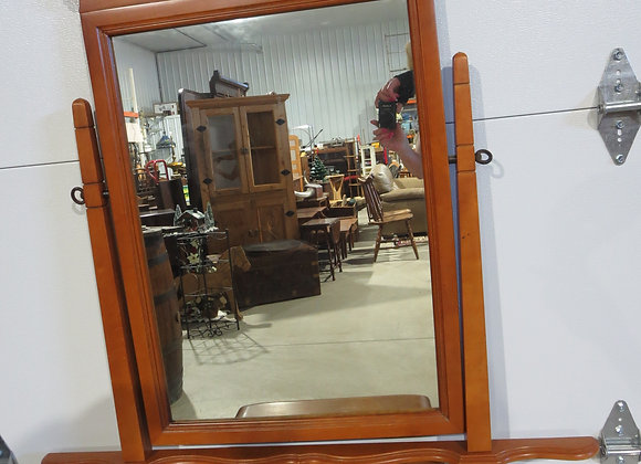 Maple Dresser Mirror