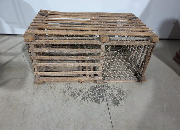Vintage Wood Lobster Trap