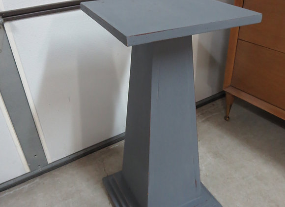 Grey Wood Plant Stand