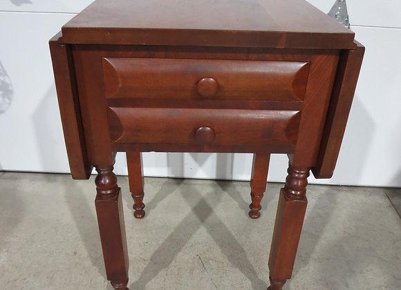 Vintage Side Drop Leaf Table
