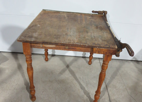 Vintage Ingento No 7 Paper Cutter Table