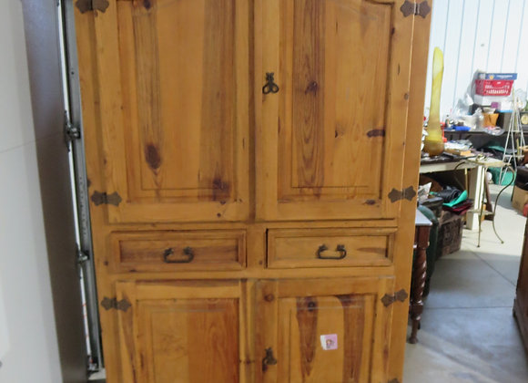 Large Pine Armoire