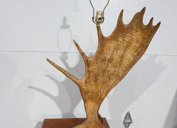 Moose Antler Table Lamp